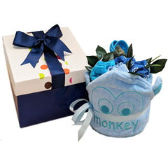 Brights Baby Boy Girl Bouquet Cakes