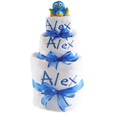 Triple Layer Personalised Nappy Cake
