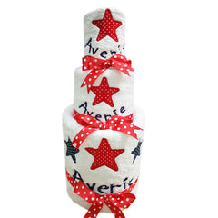 Personalised Nappy Cake - Super Star