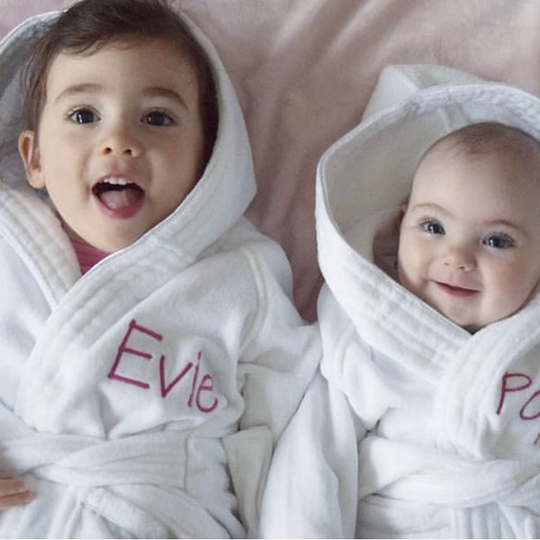 823aa14518 Baby Bath Robes Personalised Delivered Australia wide