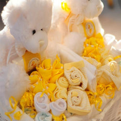 Twins Essentials Baby Gift Basket