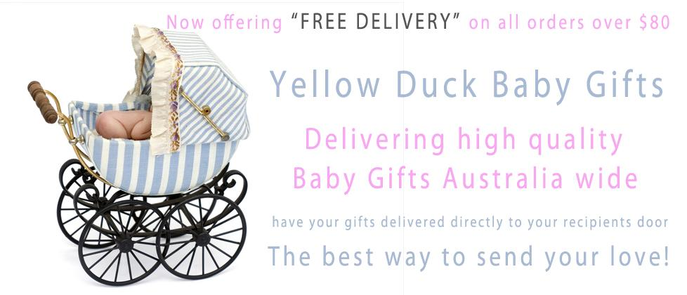 Yellow Duck Baby Gift Hampers