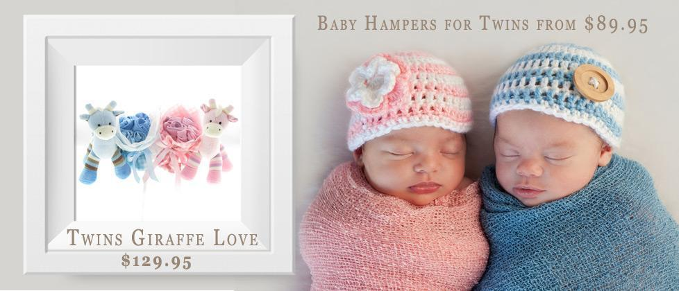 Twin baby gift hampers