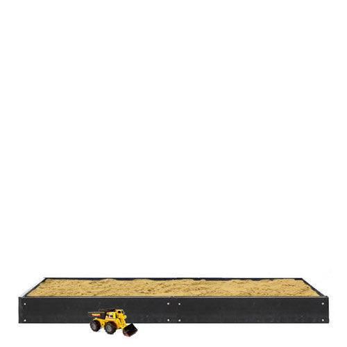 eWood 1.2m x 2.4m Sandpit - Sandbox