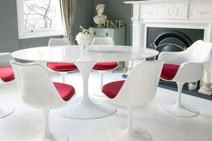 10 Ways to Use Tulip Chairs to Brighten Your Home