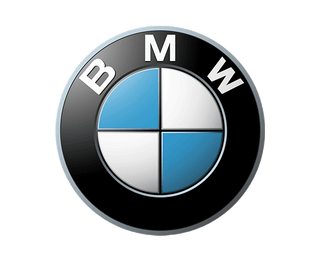 UK BMW Car Maker Logo