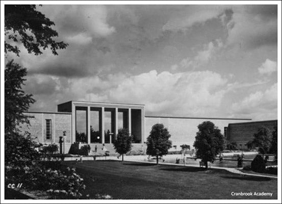 Historical image of The Cranbrook Academy based in Bloomfield Hills, MI