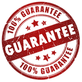 Our guarantee covers your purchase against all possibilities