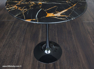 The black Portoro Marble is naturally blessed with golden and white natural veins