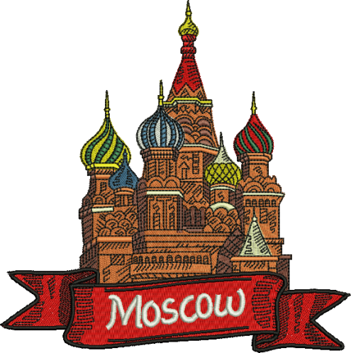 St. Basil Cathedral Drawing