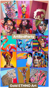 4/09/2019-Gold Art and ETHNO Art Party- Restaurant Aleo