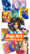 13/02/20-Gold Art and Pop Art Party-restaurant Aleo