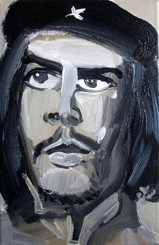 Che,Figure,Oil Painting