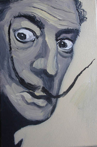 Dali,Figure,Oil Painting