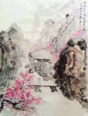 Academic,Chinese Culture,Chinese Painting,Zen,Flower Mountain,Thoreau