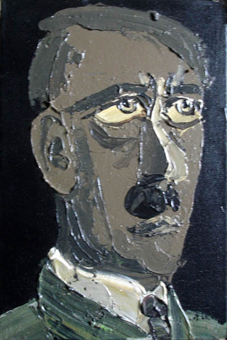 Hitler,Figure,Oil Painting