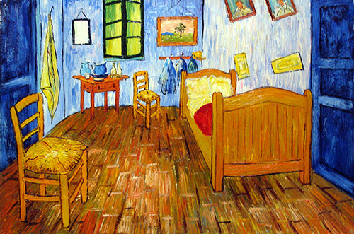 Arles Room Van Gogh Oil Painting