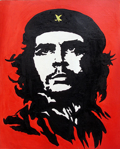 Che Guevara,The Motorcycle Diaries,Revolution,Chairman Mao,Oil Painting