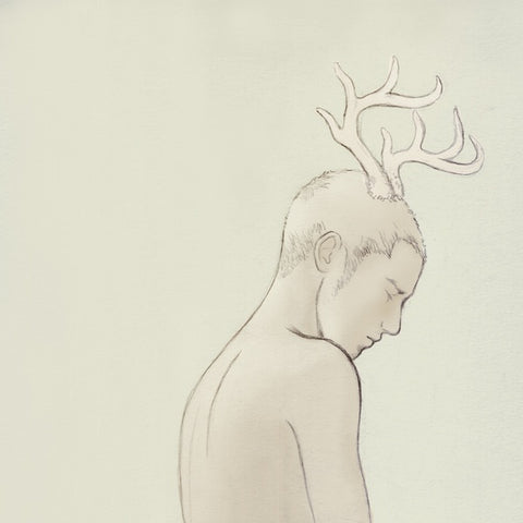 Boy,Body,Deer No.3,Oscar Wilde,Fairy Tale,Digital Painting
