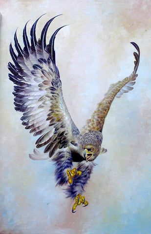 Flying Eagle,Oil Painting