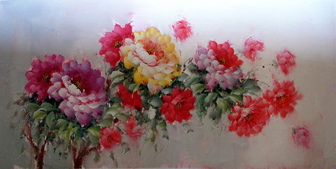 Flower,Peony No.2,Oil Painting