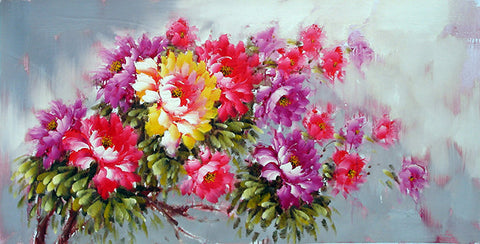 Flower,Peony No.1,Oil Painting