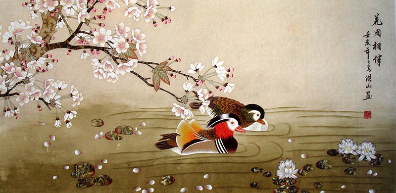Image result for chinese duck paintings