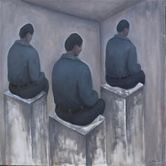 Academic,Boy,Trial,Contemporary Art China,Oil Painting