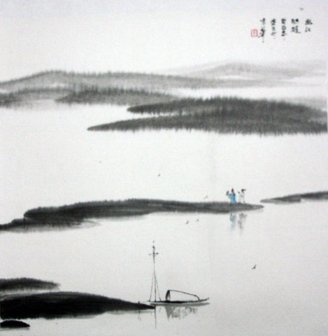 Chinese Culture Zen No.4,Academic,Chinese Painting