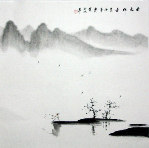 Chinese Culture Zen No.5,Academic,Chinese Painting