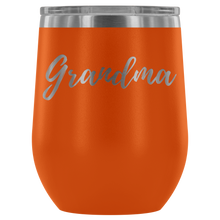 "Load image into Gallery viewer, ""Grandma"" Etched Wine Tumbler"