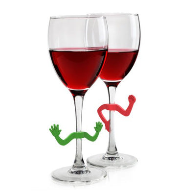 Charades Wine Glass Charms 6-piece Set