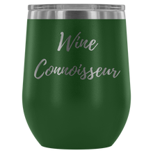 "Load image into Gallery viewer, ""Wine Connoisseur"" Etched Tumbler"