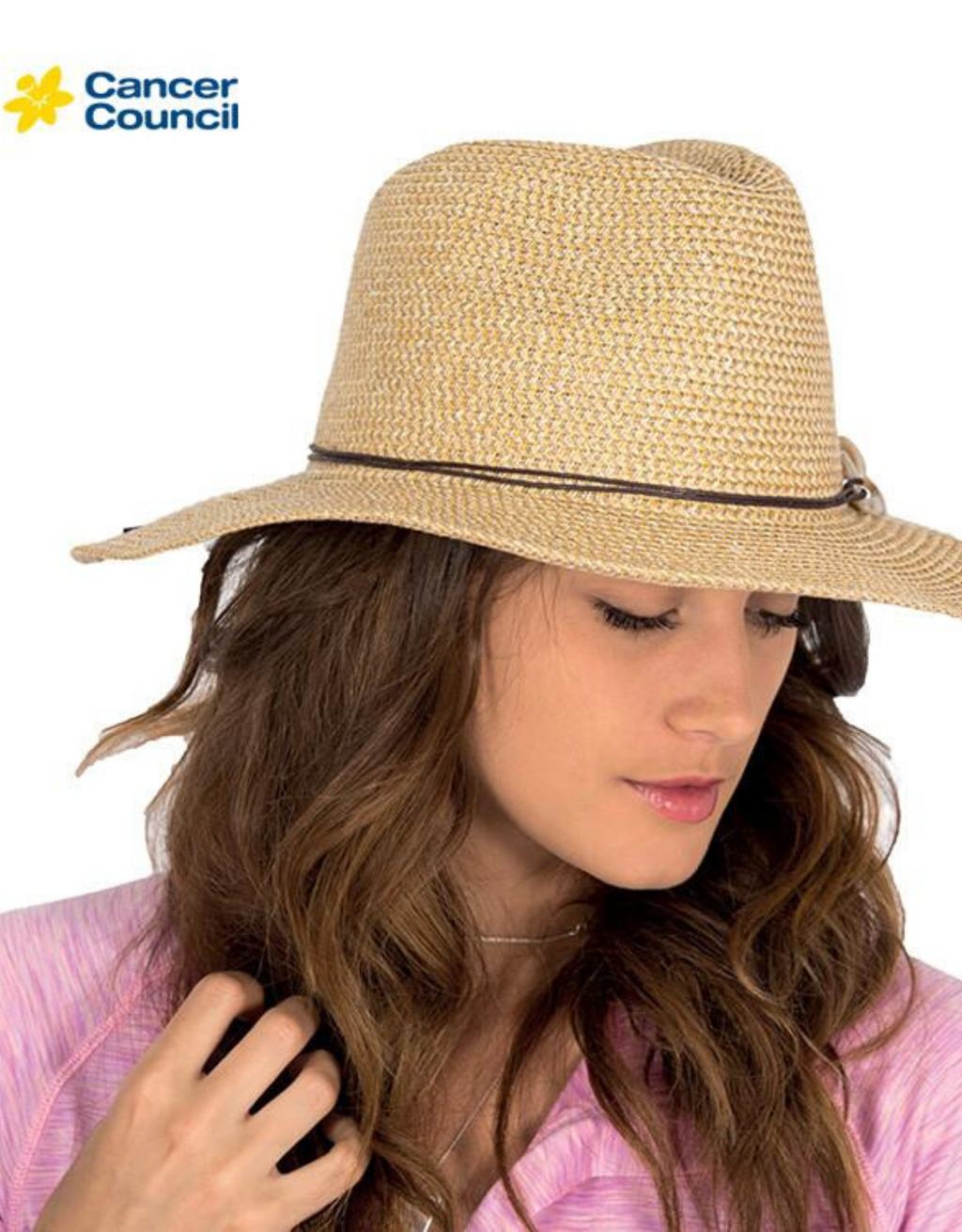 Ladies Adjustable Cowboy Style Hat - BD17