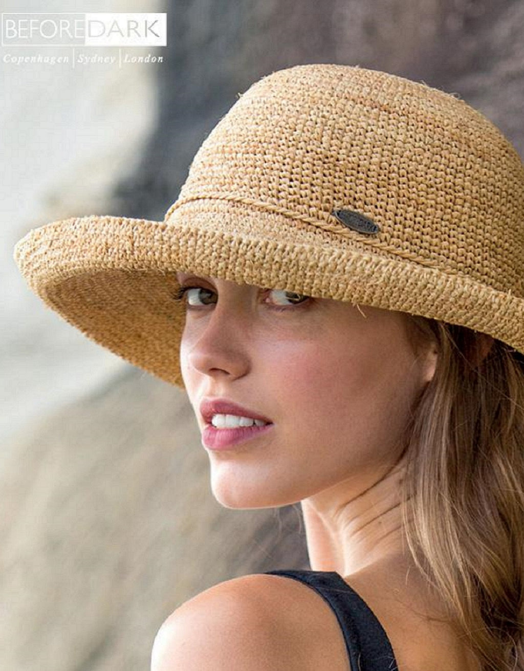 Ladies Forever Summer Breton Hat - BD41