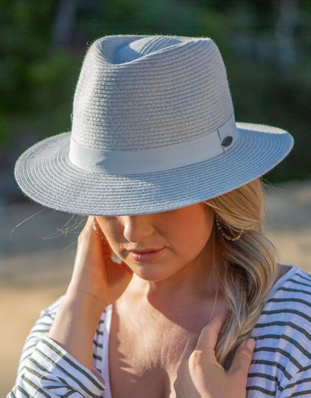 Ladies Travel Friendly Fedora - BD459S