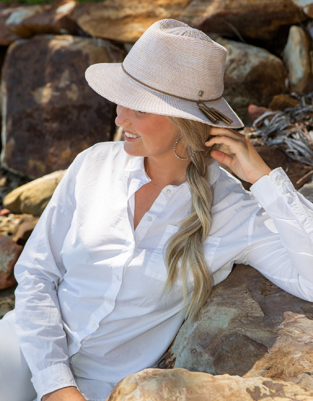 Ladies Travel Friendly Fedora - EV090
