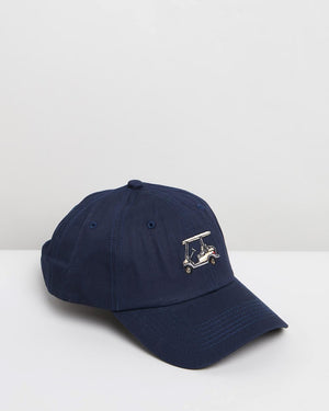 Unisex Cap with Embroidered Golf Buggy