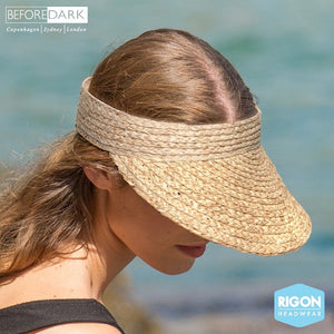 "Ladies Raffia Visor ""Noosa"" - TM515"