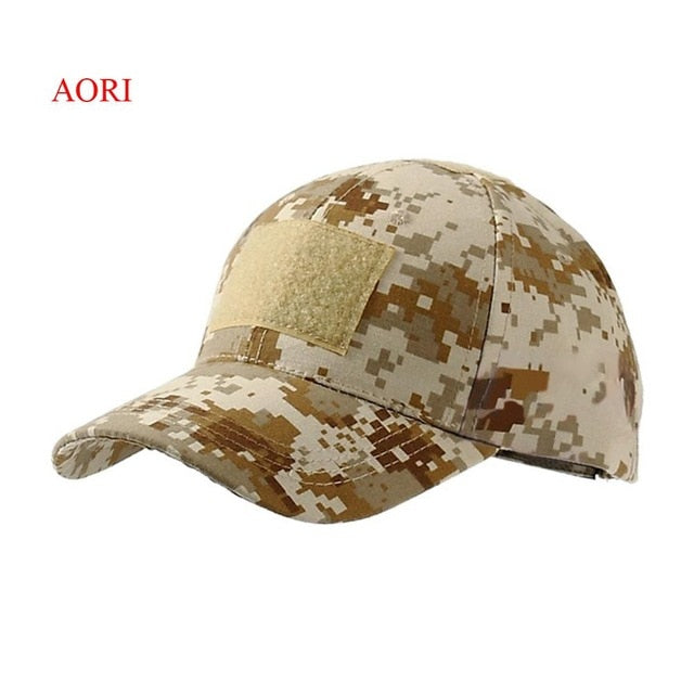 3dd172b10 Outdoor Sport Snapback Cap Camouflage Hat Simplicity Tactical Military Army  Camo Hunting Cap Hat For Men Adult Cap
