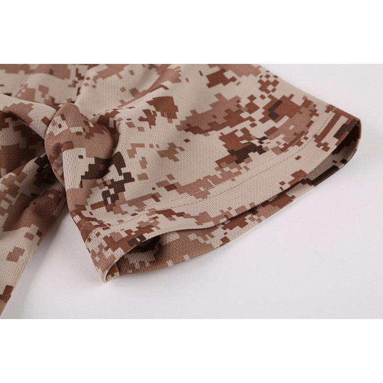 619e99c4 ... Load image into Gallery viewer, Hunting Camouflage T-shirt Men  Breathable Army Tactical Combat