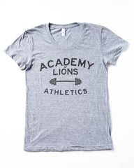 Academy Of Lions Athletics / The Classic Grey Tee