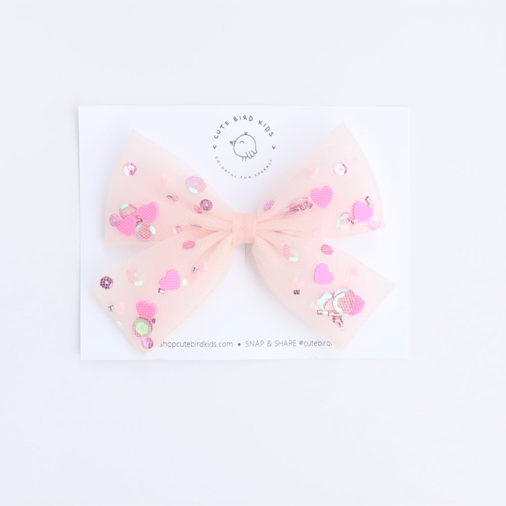 SWEET BLUSH Tulle Bows