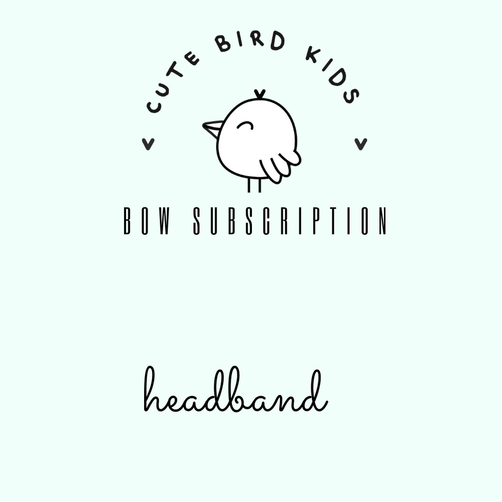 SUBSCRIPTION -Ava Headband
