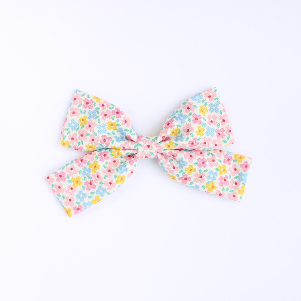 DITSY FLORAL Slim Laraline Bow