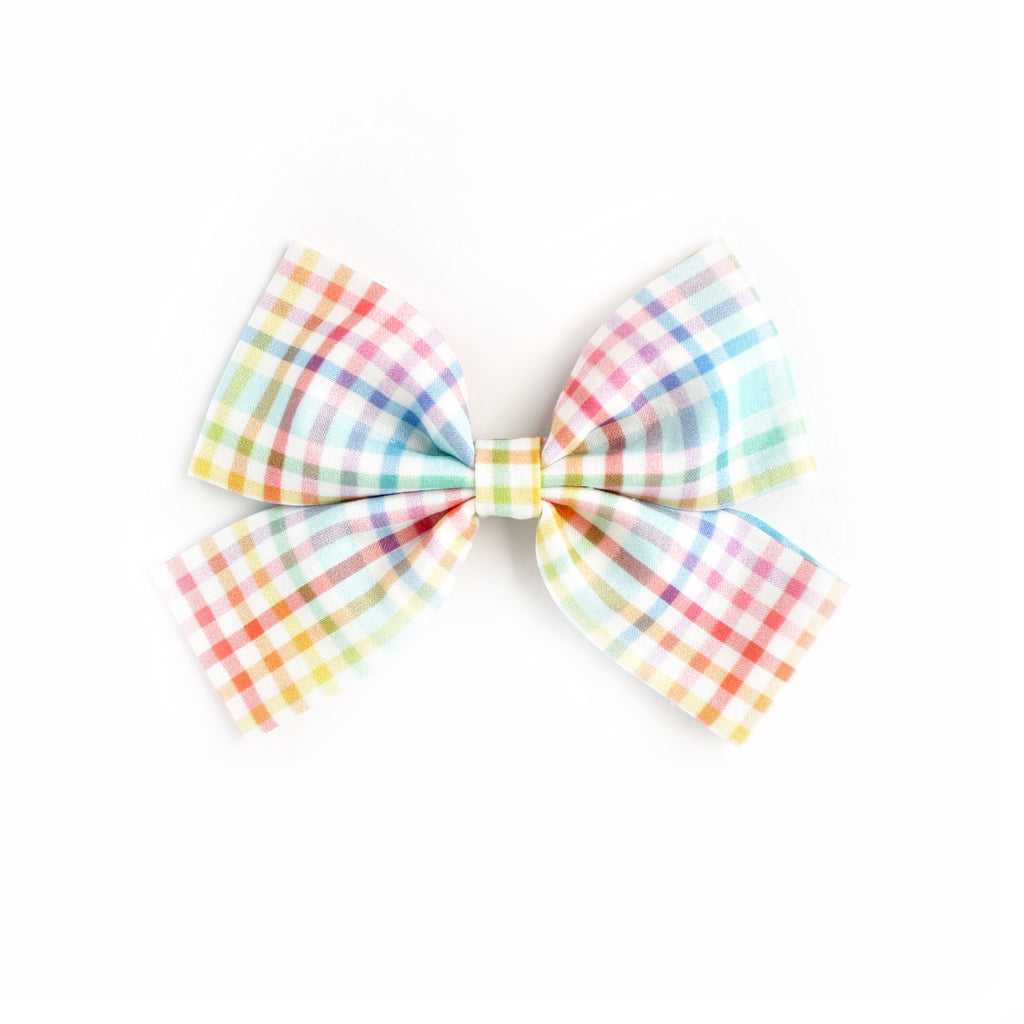 COLOR PLAID Laraline Bows