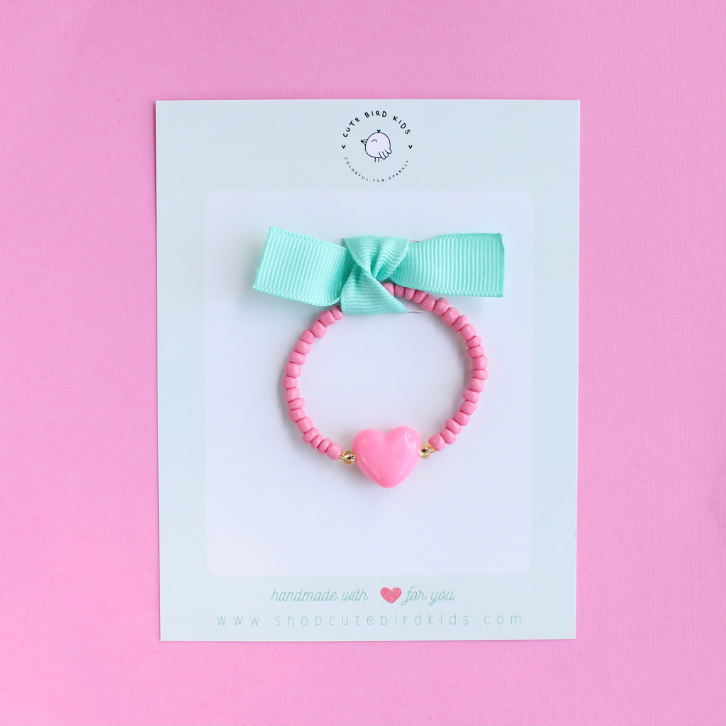 HEART Bracelet (13 colors available)