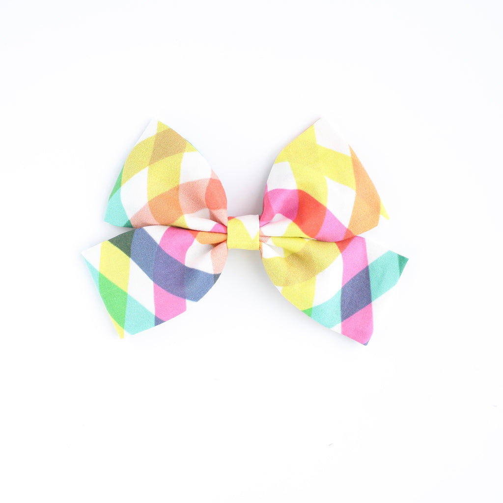 PLAY PLAID Laraline Bow