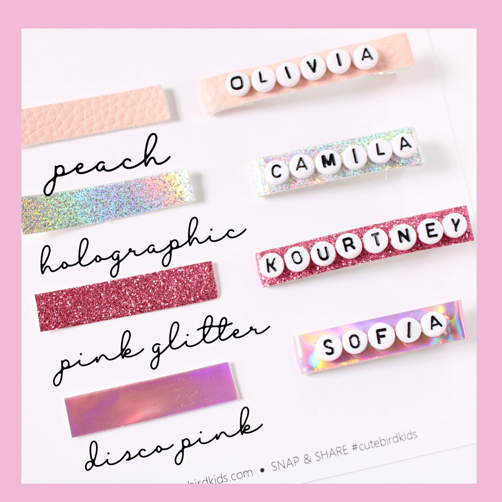 PERSONALIZED NAME Clips