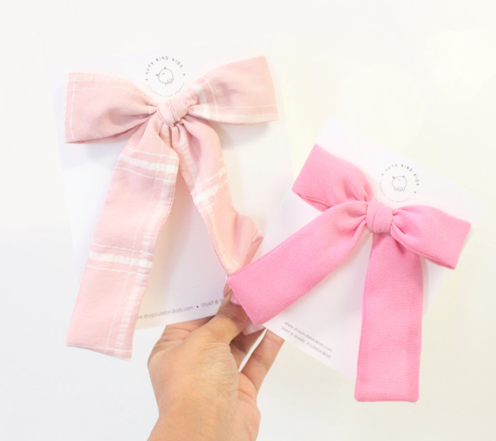 FANCY PINK Lady Bow